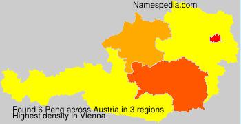 Surname Peng in Austria