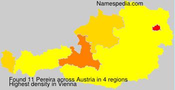 Familiennamen Pereira - Austria