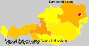 Surname Perkovic in Austria