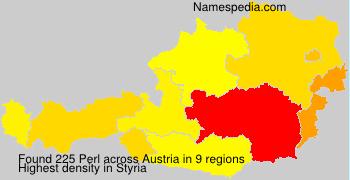 Surname Perl in Austria