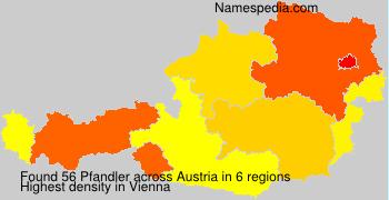 Surname Pfandler in Austria