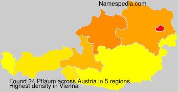Surname Pflaum in Austria