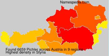 Surname Pichler in Austria