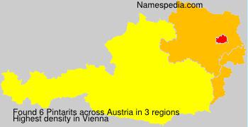 Surname Pintarits in Austria