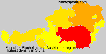 Surname Plachel in Austria