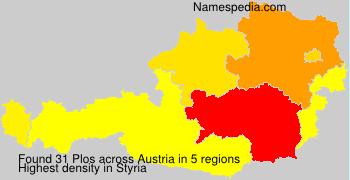 Surname Plos in Austria