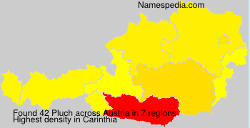 Surname Pluch in Austria