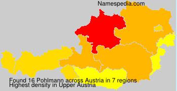Surname Pohlmann in Austria