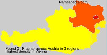 Surname Prachar in Austria