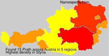 Surname Prath in Austria