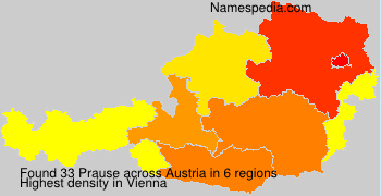Surname Prause in Austria