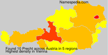 Familiennamen Precht - Austria