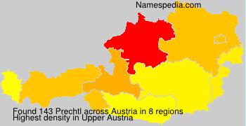 Familiennamen Prechtl - Austria