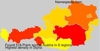 Surname Prem in Austria