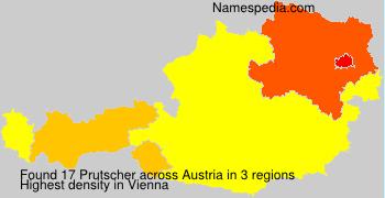 Surname Prutscher in Austria
