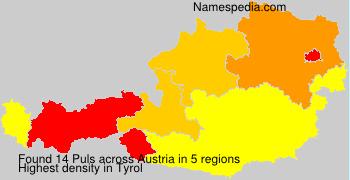 Surname Puls in Austria