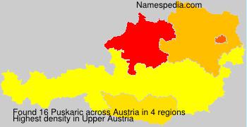 Surname Puskaric in Austria