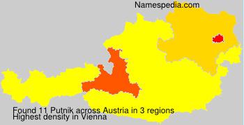 Familiennamen Putnik - Austria