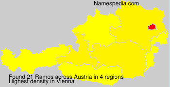 Familiennamen Ramos - Austria
