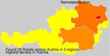 Surname Randa in Austria