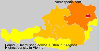Surname Rasmussen in Austria