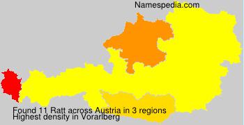 Surname Ratt in Austria
