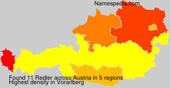 Surname Redler in Austria