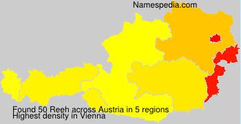 Familiennamen Reeh - Austria