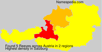 Surname Reeves in Austria