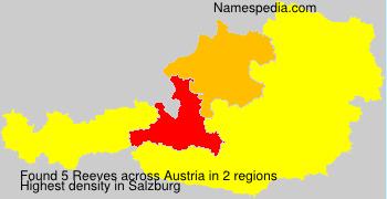 Familiennamen Reeves - Austria