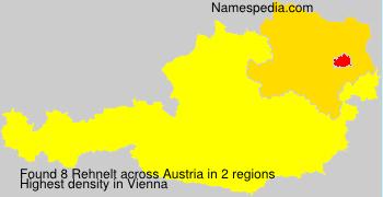 Familiennamen Rehnelt - Austria