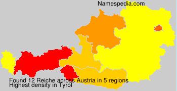 Surname Reiche in Austria