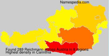 Familiennamen Reichmann - Austria