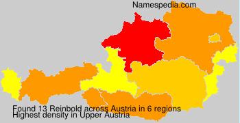 Familiennamen Reinbold - Austria