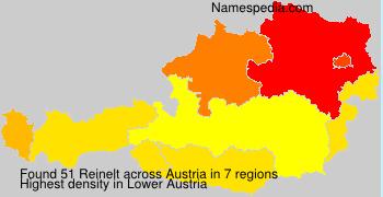 Surname Reinelt in Austria