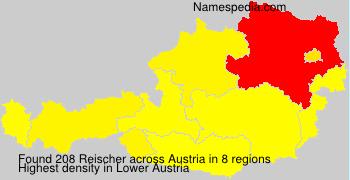 Surname Reischer in Austria