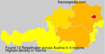Familiennamen Reiselhuber - Austria
