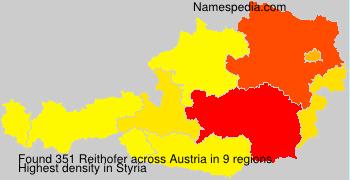 Surname Reithofer in Austria