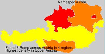 Familiennamen Remp - Austria