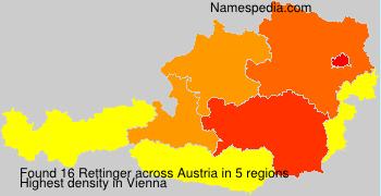 Surname Rettinger in Austria