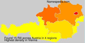Surname Rill in Austria