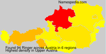 Surname Ringer in Austria
