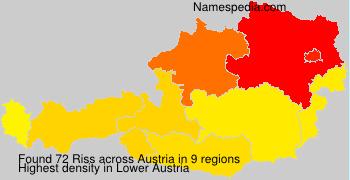 Surname Riss in Austria