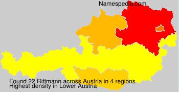 Surname Rittmann in Austria