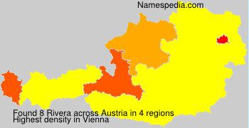 Familiennamen Rivera - Austria
