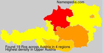 Surname Ros in Austria