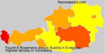 Surname Rosemann in Austria