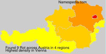 Familiennamen Rot - Austria
