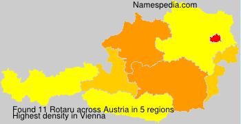 Familiennamen Rotaru - Austria