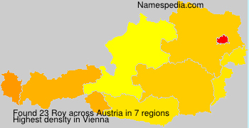 Surname Roy in Austria